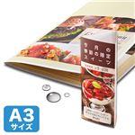 (まとめ)サンワサプライ カラーレーザー用耐水紙・特厚A3サイズ LBP-WPF22MDP-A3【×2セット】