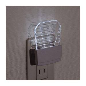 (まとめ)YAZAWA LEDナイトライト NL19【×10セット】 - 拡大画像