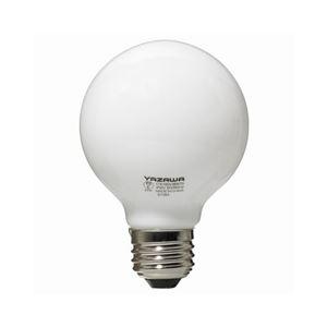 (まとめ)YAZAWA ボール電球60W形ホワイト GW100V57W70【×10セット】 - 拡大画像