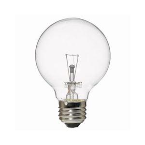 (まとめ)YAZAWA ボール電球40W形クリア GC100V38W70【×10セット】 - 拡大画像