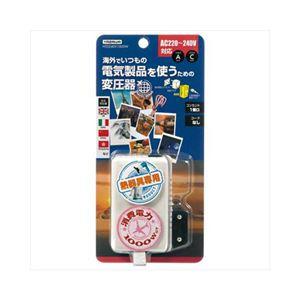 YAZAWA 海外旅行用変圧器240V1000W HTD240V1000W - 拡大画像