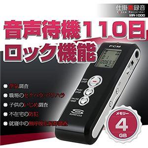 ベセトジャパン 仕掛け録音ボイスレコーダー MR-1000 - 拡大画像
