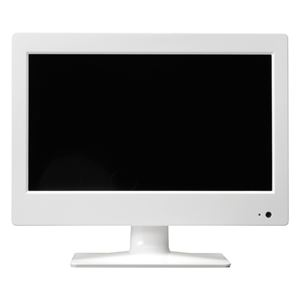 SKNET 14型液晶ハイビジョンテレビ SK-DTV14JWB - 拡大画像