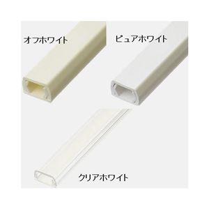 (まとめ)YAZAWA 固定テープ付モール FF1O【×10セット】 - 拡大画像