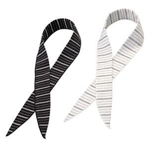 (まとめ)ヴィクトリー 冷感スカーフ COOL BORDER 2色組 810914【×5セット】 - 拡大画像