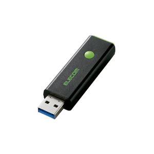エレコム USB3.0対応ノック式USBメモリ MF-PSU332GGN
