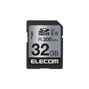 エレコム UHS-/U3対応SDHCメモリカード MF-FS032GU23R