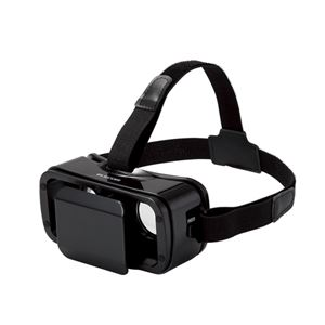エレコム VRグラス(多機能・小型タイプ) P-VRGR02BK - 拡大画像