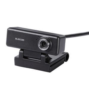 エレコム PCカメラ/200万画素/マイク内蔵/高精細ガラスレンズ/ブラック UCAM-C520FBBK