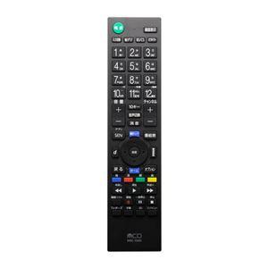 (まとめ) ミヨシ TV用リモコン LG対応 MRC-LG01 【×2セット】 - 拡大画像