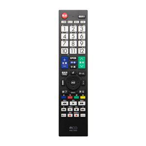 (まとめ) ミヨシ TV用リモコン 三菱対応 MRC-MI01 【×2セット】 - 拡大画像