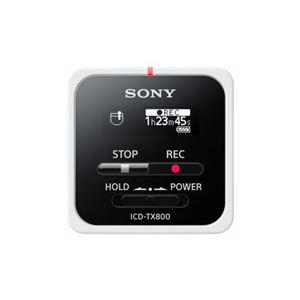ソニー ICD-TX800-W リニアPCM対応ICレコーダー 16GB ホワイト