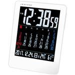 アデッソ カラーカレンダー電波時計 C7071576 C8059080