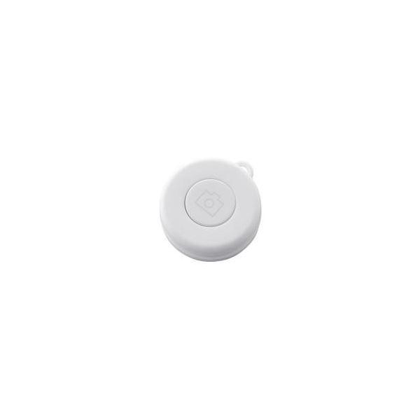 (まとめ) エレコム Bluetoothリモコン/ホワイト P-SRBWH 【×5セット】
