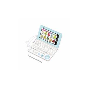 CASIO 電子辞書 「エクスワード」(小学生向けモデル、100コンテンツ収録) ホワイト XD-SK2800WE - 拡大画像