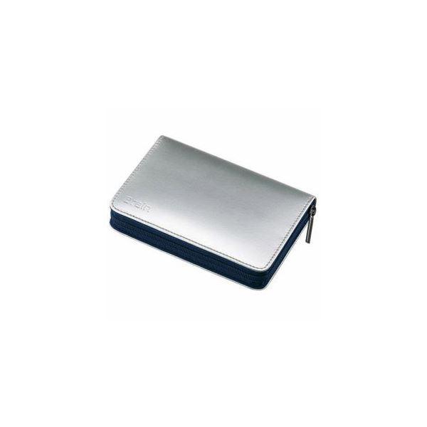 (まとめ) SHARP OZ-300-S 電子辞書専用純正ケース シルバー 【×3セット】