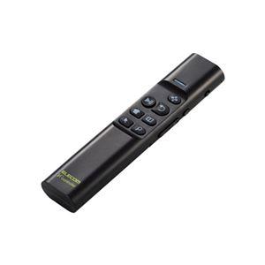 エレコム Bluetoothリモコン/90度補正機能付/ジャイロセンサー/ブラック M-VRA01BK - 拡大画像