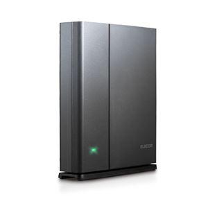 エレコム 無線LANルーター親機/11ac.n.a.g.b/1300+450Mbps/有線Giga/IPv6対応 WRC-1750GSV - 拡大画像