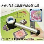 スリーアールソリューション メモリ付LED拡大鏡memolia 3R-MEMOLIA
