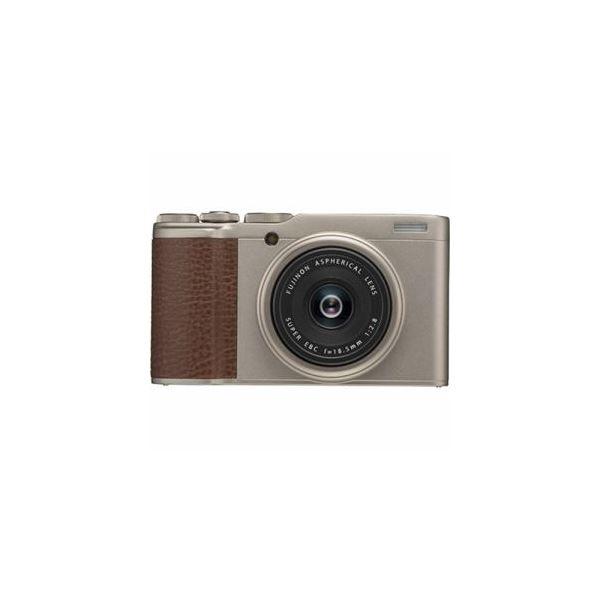 富士フイルム コンパクトデジタルカメラ シャンパンゴールド FX-F10-G