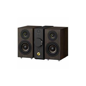 SONY セパレートタイプ Bluetoothスピーカー コンパクトオーディオシステム(ブラック) CAS-1-BC