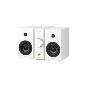 SONY セパレートタイプ Bluetoothスピーカー コンパクトオーディオシステム(ホワイト) CAS-1-WC