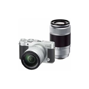 富士フイルム デジタル一眼カメラ「X-A3」ダブルズームレンズキット(シルバー) F-X-A3WZLK-S - 拡大画像