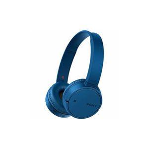 ソニー ワイヤレスステレオヘッドセット ブルー WH-CH500-L