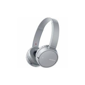 ソニー ワイヤレスステレオヘッドセット グレー WH-CH500-H