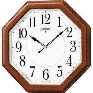 セイコー 電波木枠掛時計 C8060067 C9060586