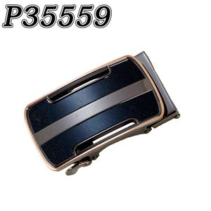(まとめ) TENKAPAS サイズ自由自在 穴無しベルト快適 便利 オートロック 本革 ベルト メンズ P35559 【×2セット】