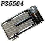 (まとめ) TENKAPAS サイズ自由自在 穴無しベルト快適 便利 オートロック 本革 ベルト メンズ P35564 【×2セット】
