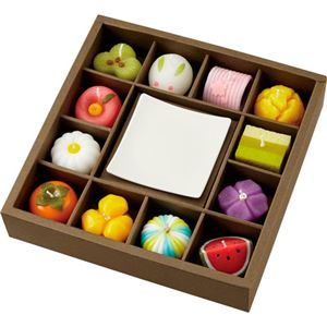 カメヤマローソク 和菓子づくしギフトセット B3133088 B4133608 - 拡大画像