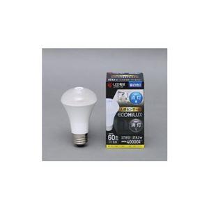 (まとめ) アイリスオーヤマ LED電球 人感センサー付 全光束810lm E26口金 60W形相当 昼白色 LDR8N-H-S6 【×3セット】