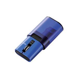エレコム Bluetooth(R)ワイヤレスマウス「CAPCLIP」 M-CC2BRSBU