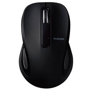 エレコム BlueLEDマウス/Salalシリーズ/Mサイズ/Bluetooth/3ボタン/ブラック M-BT18BBBK
