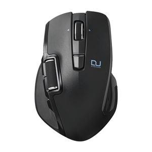 エレコム Ultimate Blueマウス/DUALシリーズ/ハードウェアマクロ搭載/サイドホイール/高速スクロール/無線/Lサイズ/6ボタン/ブラック M-DWL01DBBK