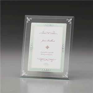 (まとめ)ガラスフォトフレーム C8063065【×2セット】