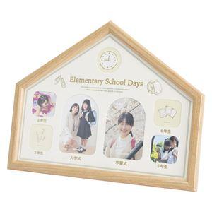 (まとめ)小学6年間メモリアルフレーム M80315136【×2セット】