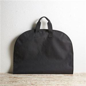 (まとめ)アッシュエル ガーメントケース(ブラック) M80417620【×2セット】