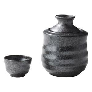 (まとめ)酒燗器 盃付 M80411610【×2セット】