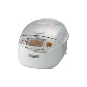 象印 圧力IH炊飯ジャー(3合) ホワイト NP-RL05-WA - 拡大画像