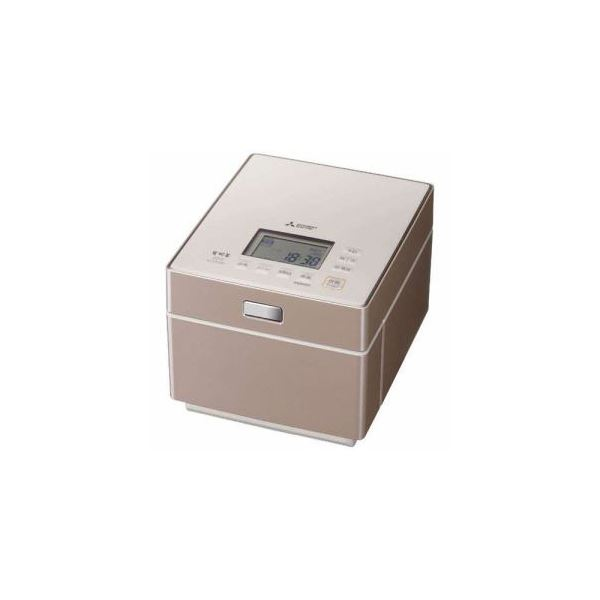 三菱 ジャー炊飯器 (5.5合炊き) テンダーロゼ NJ-XS108J-P