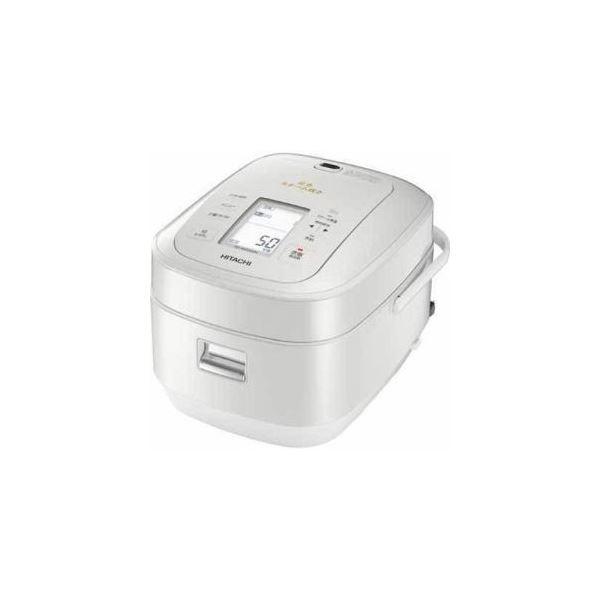 日立 圧力スチームIH炊飯器「ふっくら御膳」(5.5合炊き) パールホワイト RZ-AW3000M-W