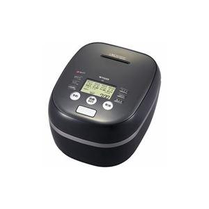 タイガー 土鍋圧力IH炊飯ジャー 「炊きたて」 (5.5合) アーバンブラック JPH-A101-KE - 拡大画像