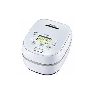 タイガー 土鍋圧力IH炊飯ジャー 「炊きたて」 (5.5合) アーバンホワイト JPH-A101-WE - 拡大画像