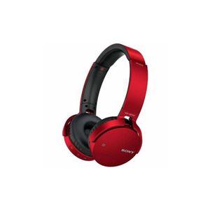 ソニー MDRXB650BTRZ Bluetooth対応ワイヤレスステレオヘッドセット(レッド)
