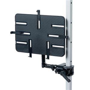 サンワサプライ 9.7〜13インチ対応iPad・タブレット用支柱取付けアーム CR-LATAB27