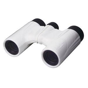 FUJINON コンパクトダハ双眼鏡8倍 KF8×21H ホワイト KF8X21H-WHT - 拡大画像