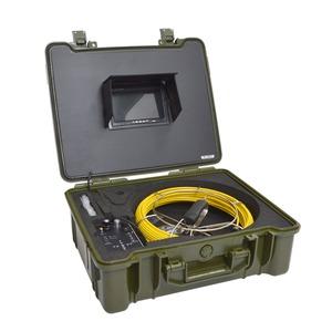 サンコー 配管用内視鏡スコープpremier20Mメーターカウンター付き CARPSCA21 - 拡大画像